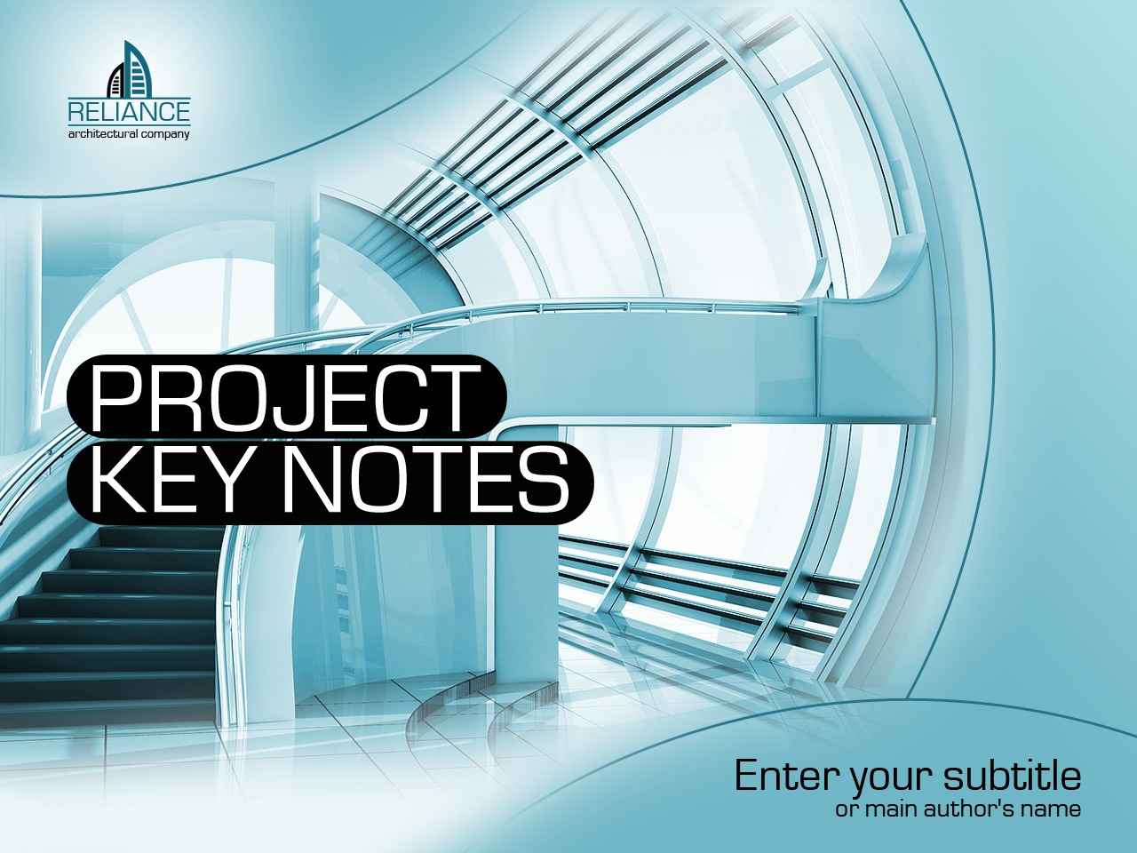 Architecture Powerpoint Template 34091