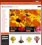 Flowers VirtueMart  Template 34102