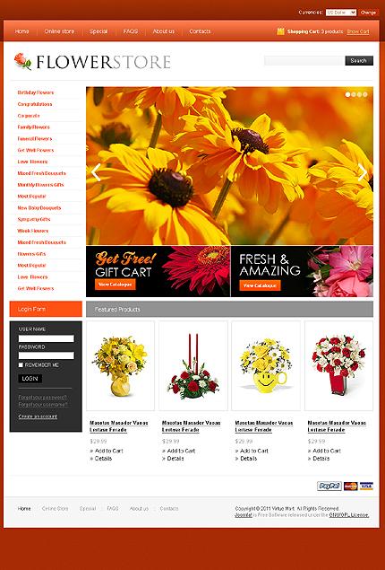 VirtueMart Main Page
