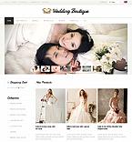 Wedding ZenCart  Template 34112