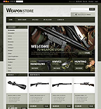 Military osCommerce  Template 34136