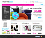 Furniture osCommerce  Template 34138