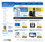 Electronics osCommerce  Template 34142