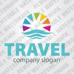 Travel Logo  Template 34156