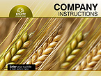Agriculture PowerPoint  Template 34175