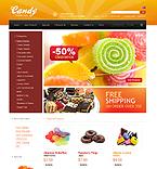 Food & Drink ZenCart  Template 34200