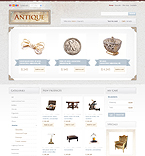 PrestaShop: Online Store/Shop Wide Templates Antique Templates