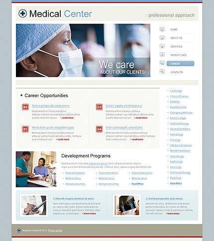 Template 34260 ( Career Page ) ADOBE Photoshop Screenshot