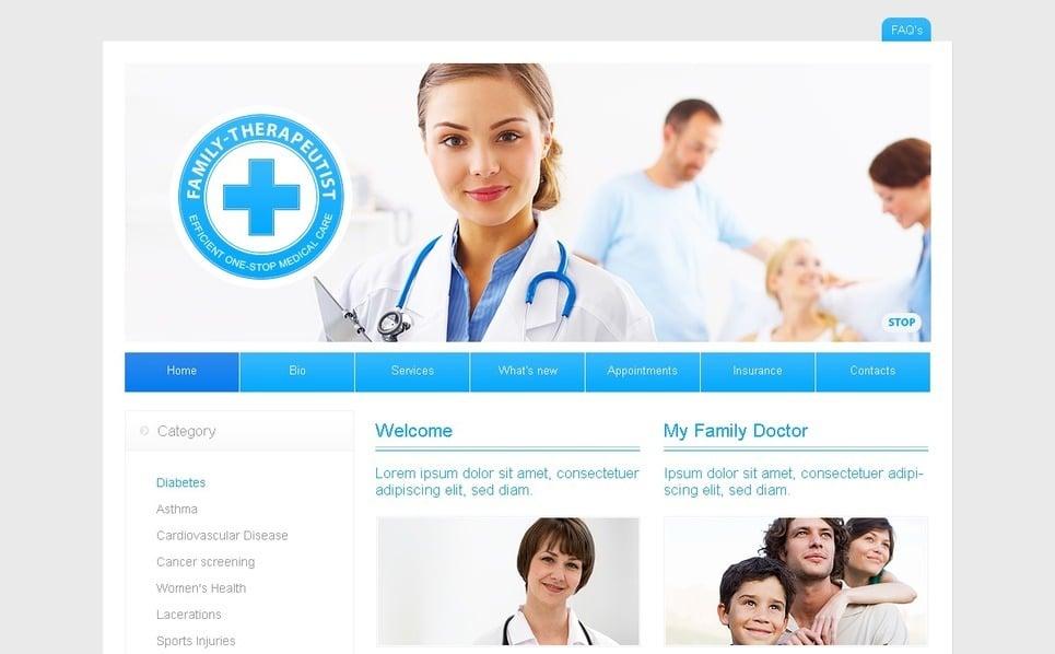 Szablon SWiSH #34261 na temat: medycyna New Screenshots BIG