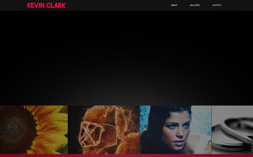 Flash CMS Template over Foto Galerij  New Screenshots BIG