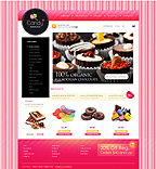 Food & Drink osCommerce  Template 34293