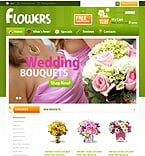 Flowers osCommerce  Template 34299