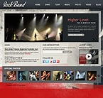 Music Drupal  Template 34393