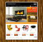 Furniture osCommerce  Template 34399