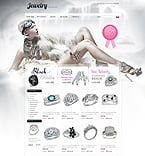 Jewelry osCommerce  Template 34400