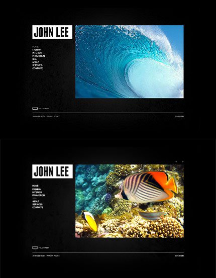 ADOBE Photoshop Template 34413 Home Page Screenshot