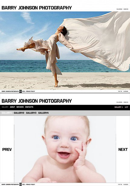 ADOBE Photoshop Template 34444 Home Page Screenshot