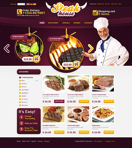 Oscommerce website templates 1865 oscommerce store oscommerce.