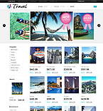 Travel osCommerce  Template 34518