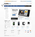 Electronics osCommerce  Template 34521
