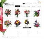 Flowers osCommerce  Template 34523