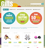 Gifts ZenCart  Template 34576