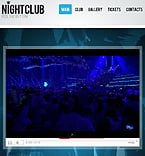 Night Club Facebook Flash  Template 34590