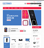Electronics VirtueMart  Template 34597