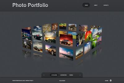 Template De Galeria De Fotos №34586 para Sites de Portfólio de Fotografo