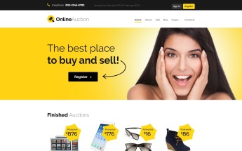 Auction Website Templates Auction Html Templates