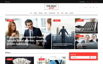 Best News Portal Wordpress Themes 2020 Templatemonster