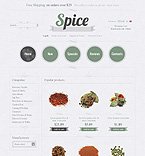 Food & Drink osCommerce  Template 34633