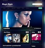 Night Club Drupal  Template 34636