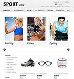 Sport ZenCart  Template 34674