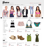 Fashion VirtueMart  Template 34676