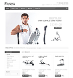 Sport osCommerce  Template 34684