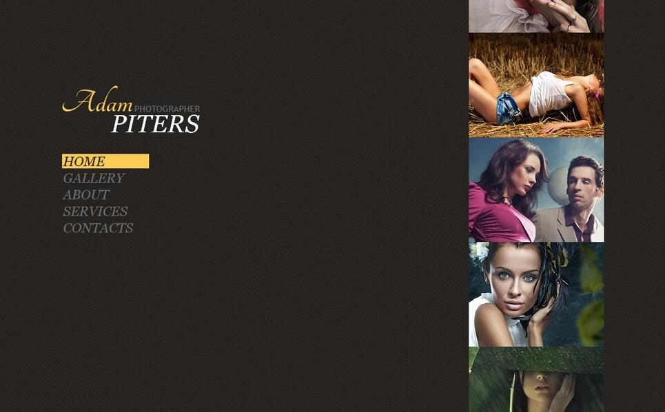 Template Flash CMS  #34798 per Un Sito di Galleria fotografica New Screenshots BIG