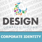 Web design Corporate Identity Template 34822