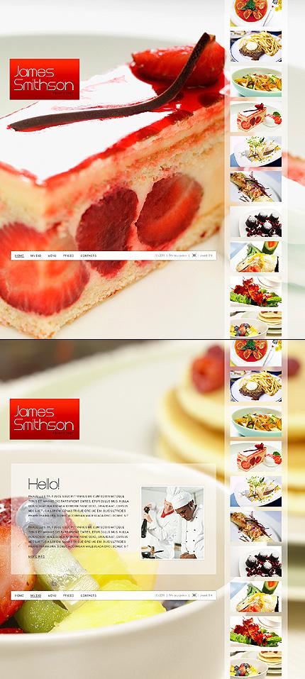 ADOBE Photoshop Template 34855 Home Page Screenshot