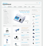 Medical ZenCart  Template 34870