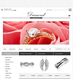 Jewelry ZenCart  Template 34873