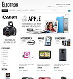 Electronics osCommerce  Template 34893