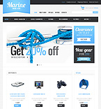 Sport osCommerce  Template 34894