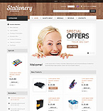 osCommerce  Template 34895