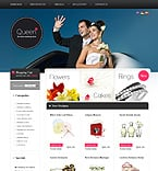 Wedding osCommerce  Template 34896
