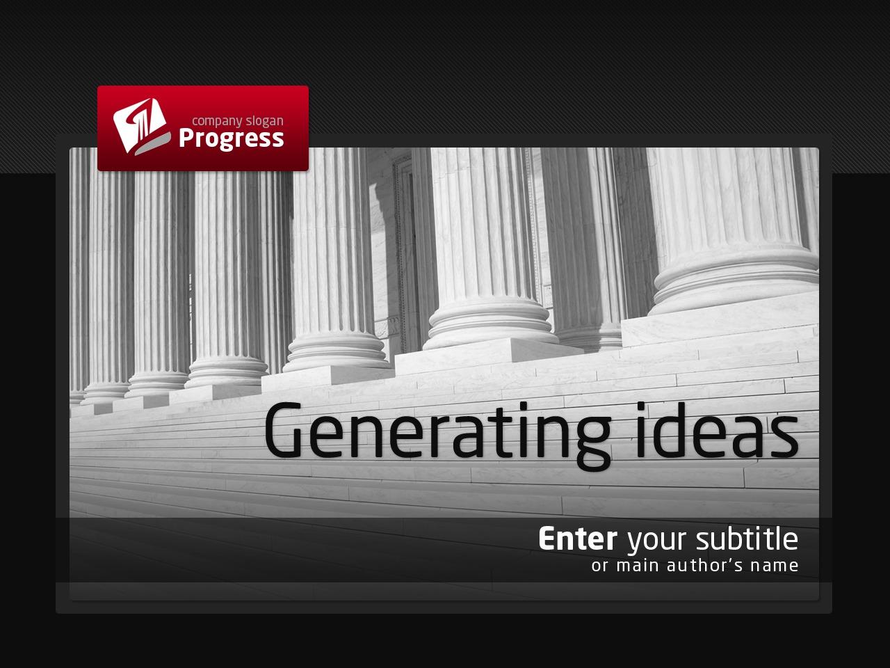 Tema PowerPoint #34824 per Un Sito di Architettura
