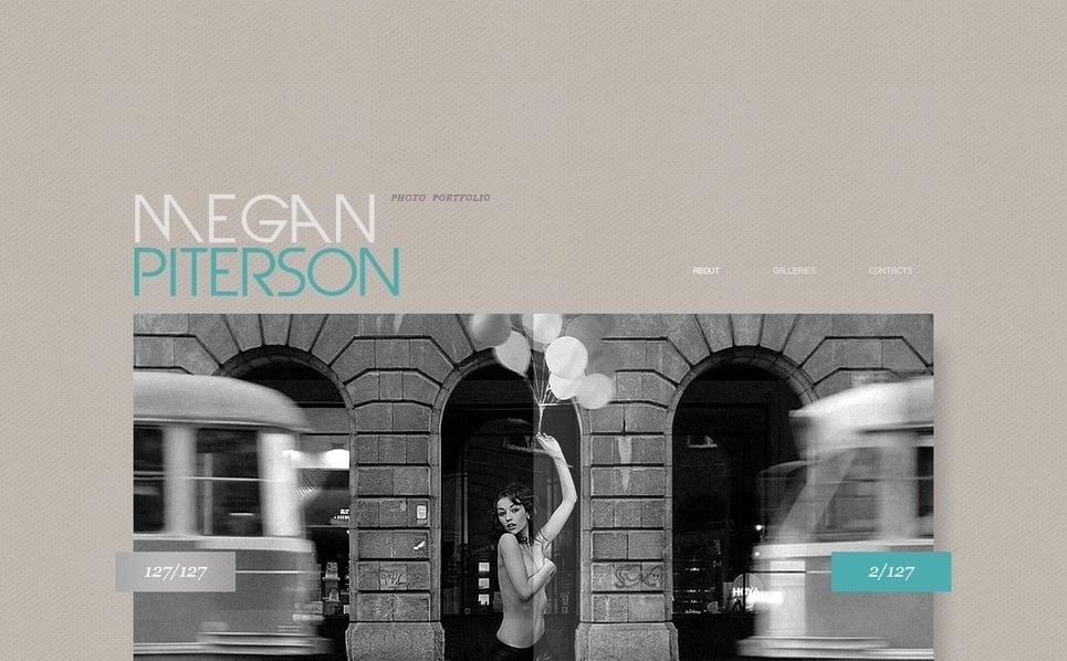Šablona Fotogalerie Portfolio fotografa New Screenshots BIG