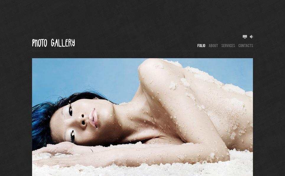 Szablon Galerii Zdjęć #34977 na temat: portfolio fotograficzne New Screenshots BIG