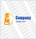 Computers Logo  Template 3500