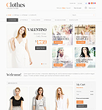 Fashion PrestaShop Template 35046